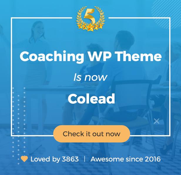 coaching newname - Colead | Coaching & Online Courses WordPress Theme