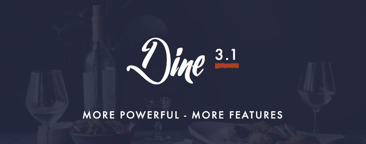 dine3.1 - Dine - Elegant Restaurant WordPress Theme