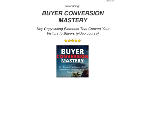 fctl0 x400 thumb - buyerconversionmastery-cbproductpage – Factal Freedom – Wisdom for Lifestyle