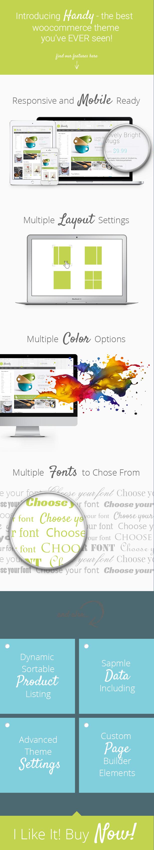 handy pres - Handy - Handmade Shop WordPress WooCommerce Theme