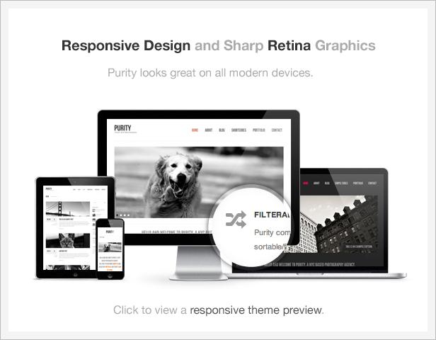 info responsive retina - Purity: Responsive, Minimal & Bold WP Theme