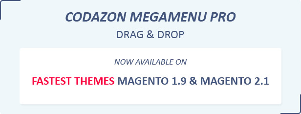 megamenu2 - Fastest - Multipurpose Responsive Magento 2 and 1 Fashion Theme
