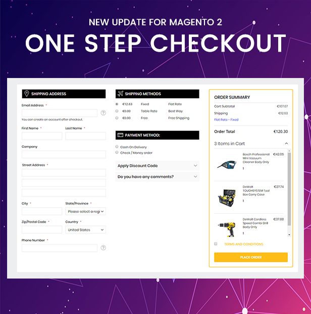 onestepcheckout - Fastest - Multipurpose Responsive Magento 2 and 1 Fashion Theme