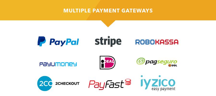 payment gateways new - PointFinder | Directory & Listing WordPress Theme