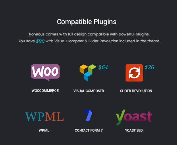 plugins 2 - Roneous - Creative Multi-Purpose WordPress Theme