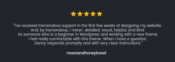 reviews 5 - Roneous - Creative Multi-Purpose WordPress Theme