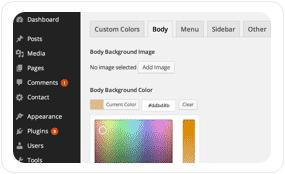 tf desc admin options optimized - Pluto Clean Personal WordPress Masonry Blog Theme
