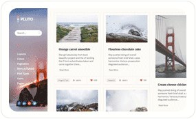 tf desc scheme almond - Pluto Clean Personal WordPress Masonry Blog Theme