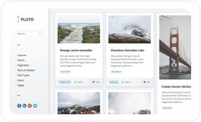 tf desc scheme blue - Pluto Clean Personal WordPress Masonry Blog Theme