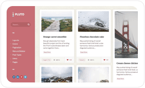 tf desc scheme pinkman - Pluto Clean Personal WordPress Masonry Blog Theme