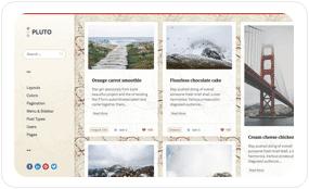tf desc scheme sakura - Pluto Clean Personal WordPress Masonry Blog Theme