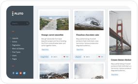 tf desc scheme slate - Pluto Clean Personal WordPress Masonry Blog Theme