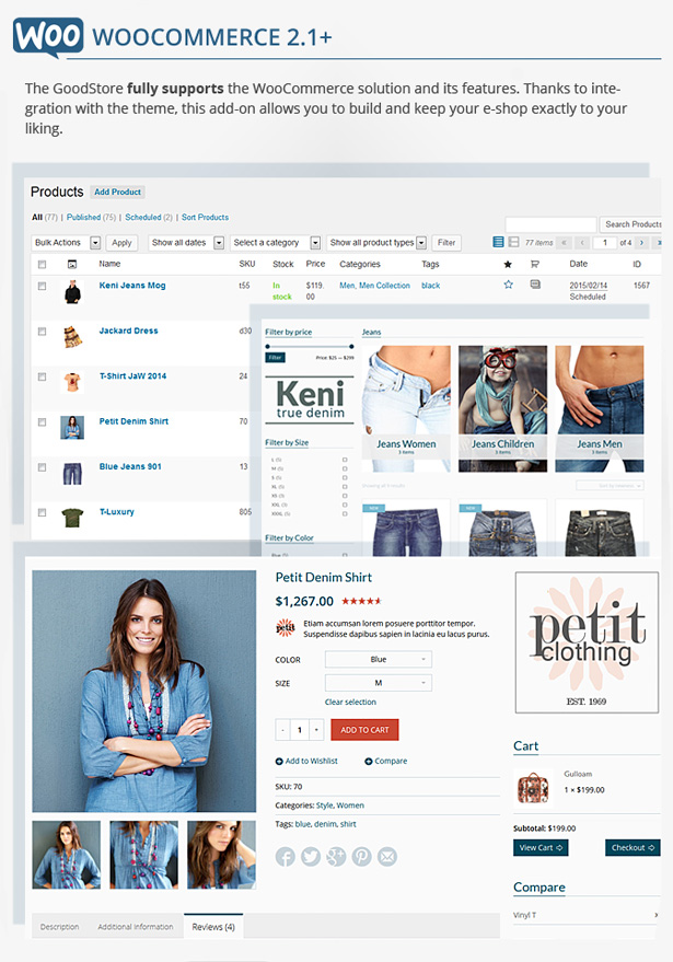 woo commerce - GoodStore - WooCommerce Theme