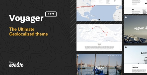 00 screenshot voyager.  large preview - Voyager - The Geolocalized Multipurpose WP theme