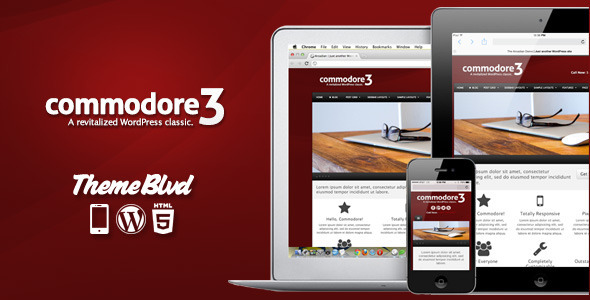 01.  large preview - Commodore Responsive WordPress Theme