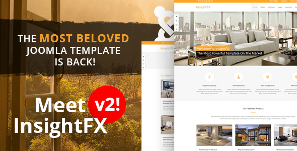 01 insightfx.  large preview - InsightFX - Multipurpose Joomla Template