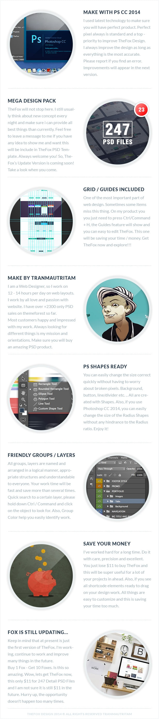 02 why you should choose thefox - TheFox | Multi-Purpose PSD Template