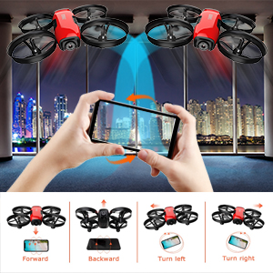 022cf424 962d 4819 8ebf 44f640828bfa.  CR0,0,300,300 PT0 SX300 V1    - SANROCK U61W Drones for Kids with Camera, Mini RC Drone Quadcopter with 720P HD WiFi FPV Camera, Support Altitude Hold, Route Making, Headless Mode, One-Key Start, Emergency Stop, Great Gift for Boys Girls