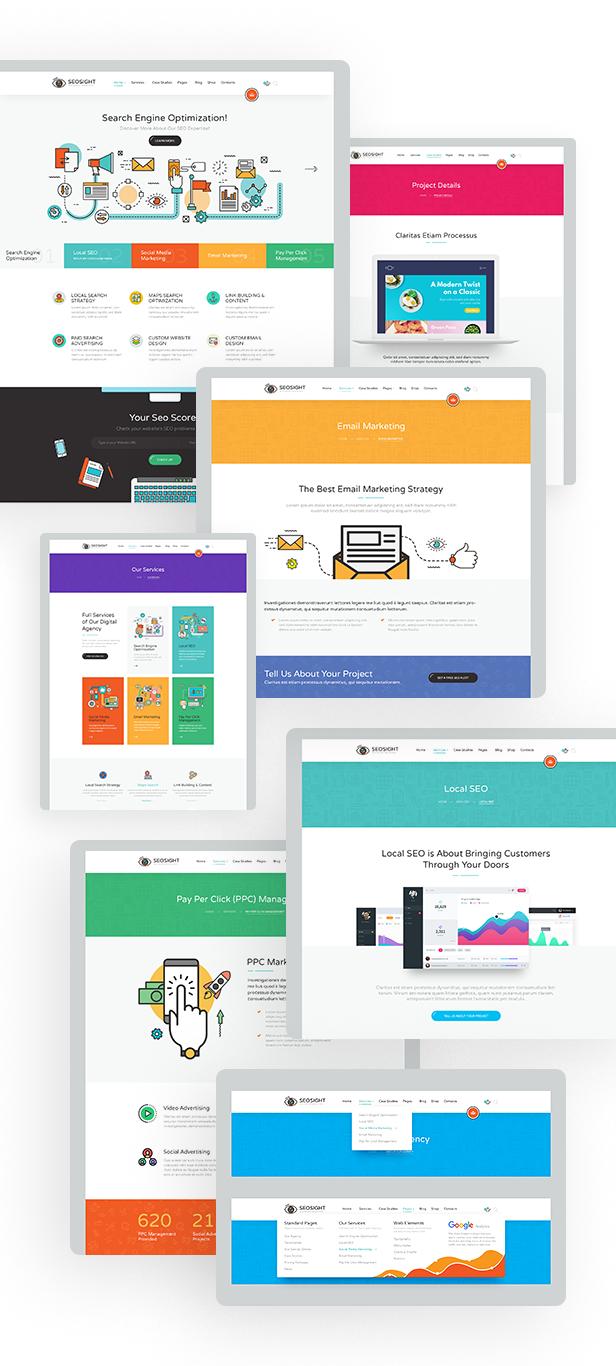 04 preview - Seosight - Digital Marketing Agency WordPress Theme