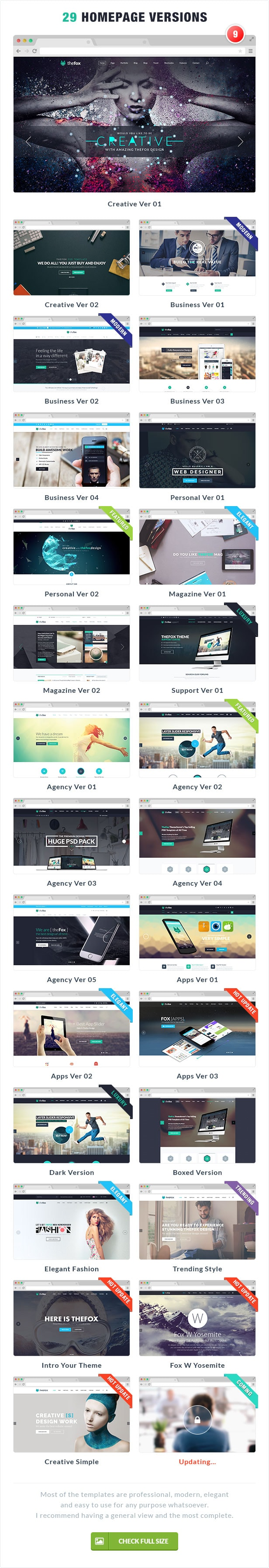 08 thefox psd home page design - TheFox | Multi-Purpose PSD Template