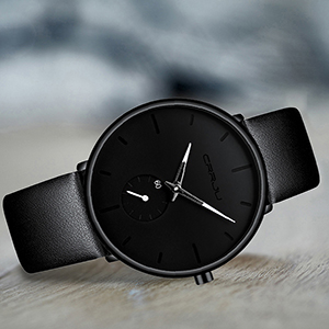 0e409791 9756 4083 8045 ad94f377664b.  CR0,0,300,300 PT0 SX300 V1    - Mens Watches Ultra-Thin Minimalist Waterproof-Fashion Wrist Watch for Men Unisex Dress with Leather Band