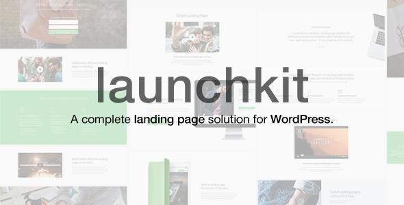 1.  large preview - Launchkit Landing Page & Marketing WordPress Theme