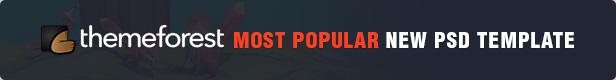 12 most popular item - TheFox | Multi-Purpose PSD Template
