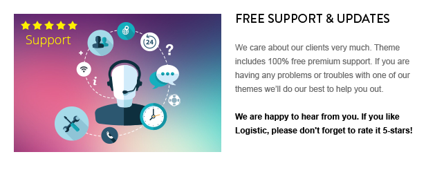 13 - Logistic - WP Theme For Transportation Business