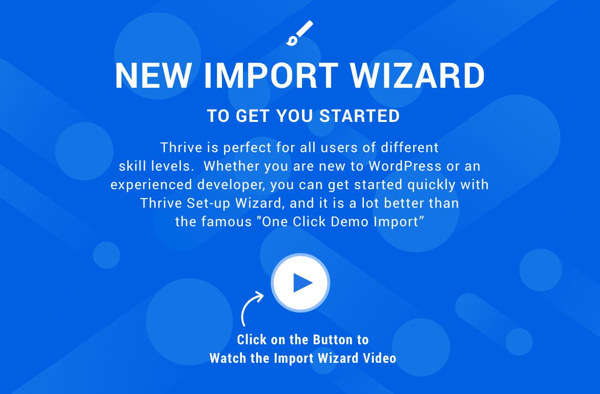 2 importer - Thrive - Intranet & Community WordPress Theme