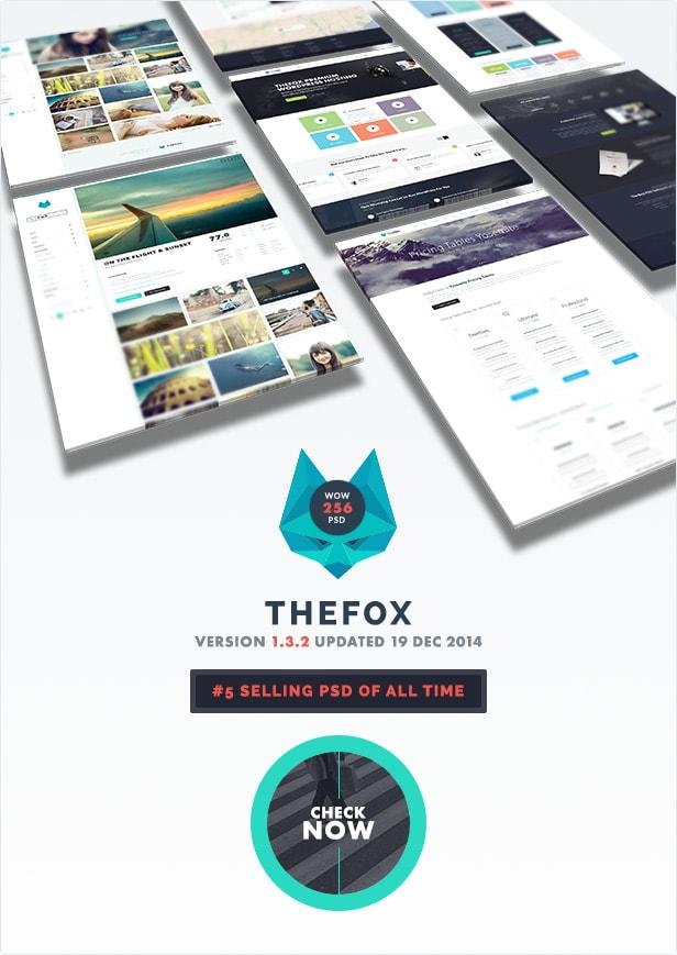 23 thefox psd update version 1 3 2 - TheFox | Multi-Purpose PSD Template