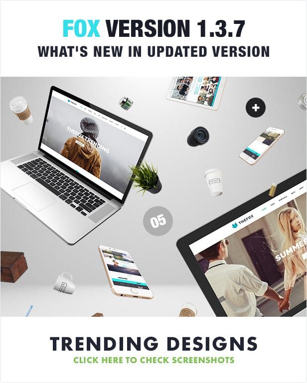 25 thefox psd update 1 3 7 - TheFox | Multi-Purpose PSD Template