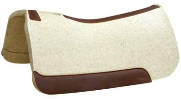 """31ZapA+jIsL. AC  - 5 Star - 1 1/8"""" Extra Thick Rancher Western Saddle Pad - The Rancher Performer Full Skirt 32"""" x 32"""" This Horse Saddle Pad is Great for Ropers and Ranchers. Free Sponge Saddle Pad Cleaner Included"""