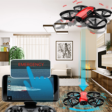 32117c57 f670 423a 9bab b1c3ddfd7de6.  CR0,0,220,220 PT0 SX220 V1    - SANROCK U61W Drones for Kids with Camera, Mini RC Drone Quadcopter with 720P HD WiFi FPV Camera, Support Altitude Hold, Route Making, Headless Mode, One-Key Start, Emergency Stop, Great Gift for Boys Girls