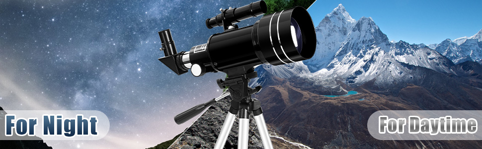 363ab7d3 7bdd 4eba bcdc 89ef24b427d3.  CR0,0,970,300 PT0 SX970 V1    - Occer Telescopes for Adults Kids - Portable Telescope for Beginners for View Moon - 70mm Aperture 300mm Lightweight Refracting Telescopes with Adjustable Tripod Moon Filter Wireless Remote