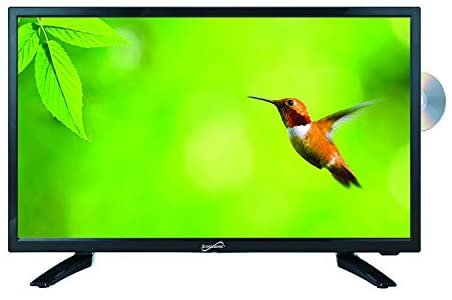 """41FudnTXHGL. AC  - SuperSonic SC-1912 LED Widescreen HDTV 19"""", Built-in DVD Player with HDMI, USB, SD & AC/DC Input: DVD/CD/CDR High Resolution and Digital Noise Reduction"""