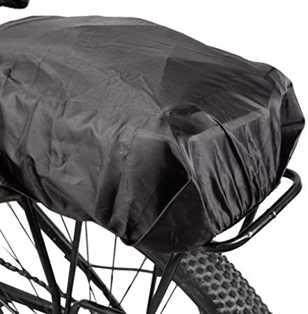41JOh e1OSL. AC  - ERRLANER Bicycle Rack Rear Carrier Bag Insulated Trunk Cooler PU Leather Waterproof 11L/7L Large Capacity Storage Luggage Pouch Reflective MTB Bike Pannier Shoulder Bag with Rain Cover