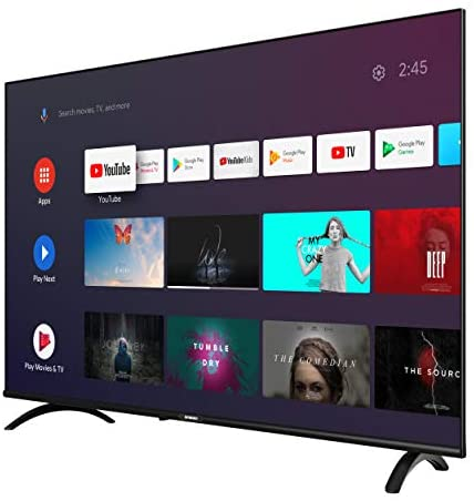 41Jowyowl2L. AC  - Skyworth E20300 40-Inch 1080P Full HD Smart TV, LED Android TV with Voice Remote