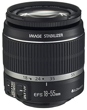 41TjLH7gVVL. AC  - Canon EF-S 18-55mm f/3.5-5.6 IS II SLR Lens White Box
