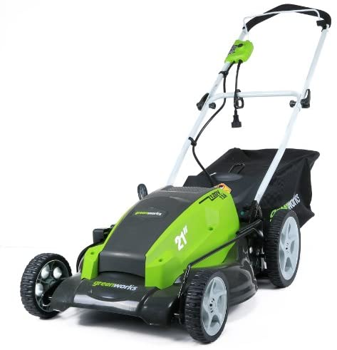 41rMncDtLcL. AC  - Greenworks 21-Inch 13 Amp Corded Electric Lawn Mower 25112