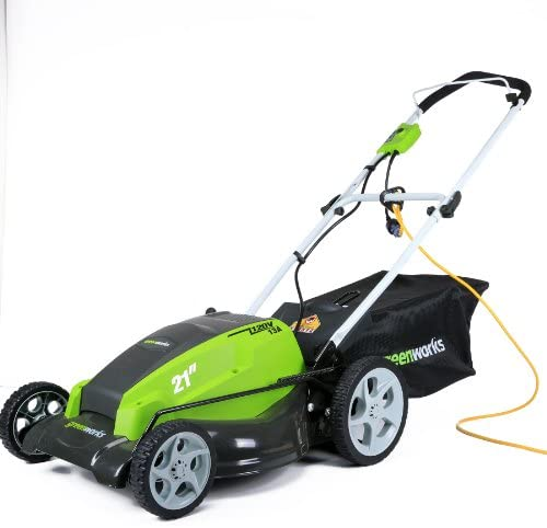 41tOOrXz7LL. AC  - Greenworks 21-Inch 13 Amp Corded Electric Lawn Mower 25112