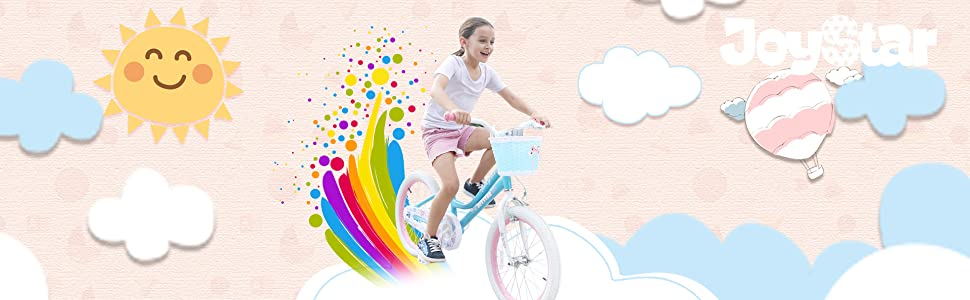 4ded5c02 d3c4 45c9 b68b 978cb2afa5e5. CR0,3,1920,594 PT0 SX970   - JOYSTAR Angel Girls Bike 12 14 16 18 Inch Kids Bike with Training Wheels for 2-9 Years Old, 18 Inch Kids Bike with Kickstand, Toddler Bicycle, Blue, Fuchsia, Purple