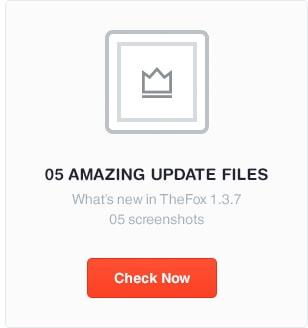 5 amazing thefox psd - TheFox | Multi-Purpose PSD Template