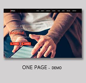 5 - Software, Technology & Business Bootstrap Html Template - Jekas