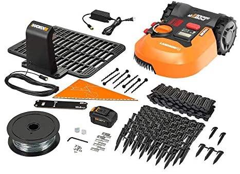 514RfheAdaL. AC  - WORX WR140 Landroid M 20V Power Share Robotic Lawn Mower, Orange