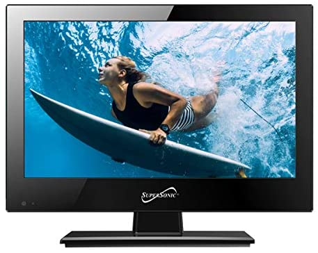 51HXqjTEmdL. AC  - Supersonic SC-1311 13.3-Inch 1080p LED Widescreen HDTV with HDMI Input (AC/DC Compatible)