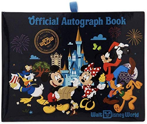 51HySJ8qQCL. AC  - Walt Disney World Official Autograph Book (2019) (Original Version) (Original Version)