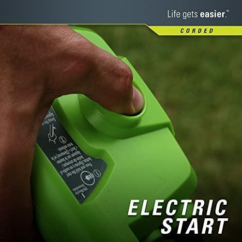 51II3 kF8OL. AC  - Greenworks 21-Inch 13 Amp Corded Electric Lawn Mower 25112