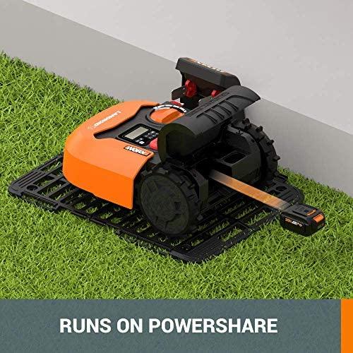 51Re4FQT3vL. AC  - WORX WR140 Landroid M 20V Power Share Robotic Lawn Mower, Orange