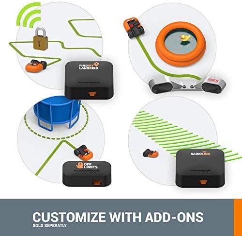 51iOSLQKvXL. AC  - WORX WR140 Landroid M 20V Power Share Robotic Lawn Mower, Orange