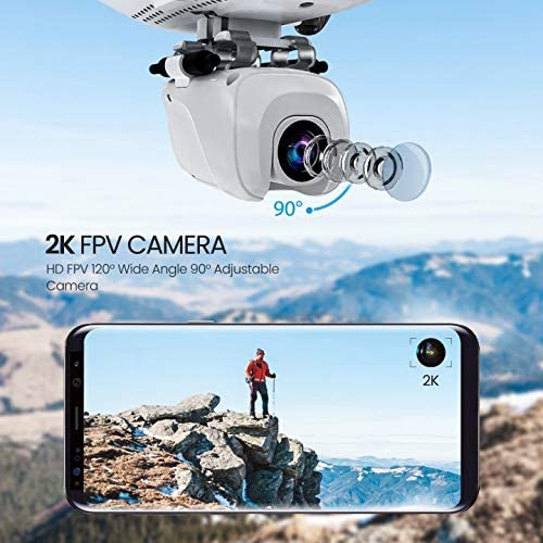 51rkgtjOJCL. AC  - Potensic D58 FPV Drone with 2K Camera for Adults, 5G WiFi HD Live Video, GPS Auto Return, RC Quadcopter for Beginners, Portable Case, 2 Batteries, Follow Me, Tap Fly, Altitude Hold, Expert-Upgraded
